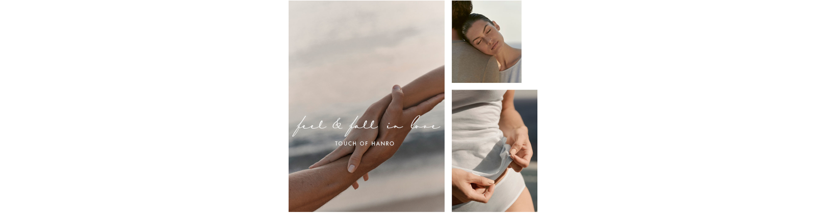 TOUCH OF HANRO Kampagne